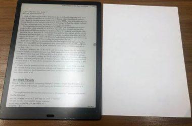 Boox Max Lump 電子書閱讀器