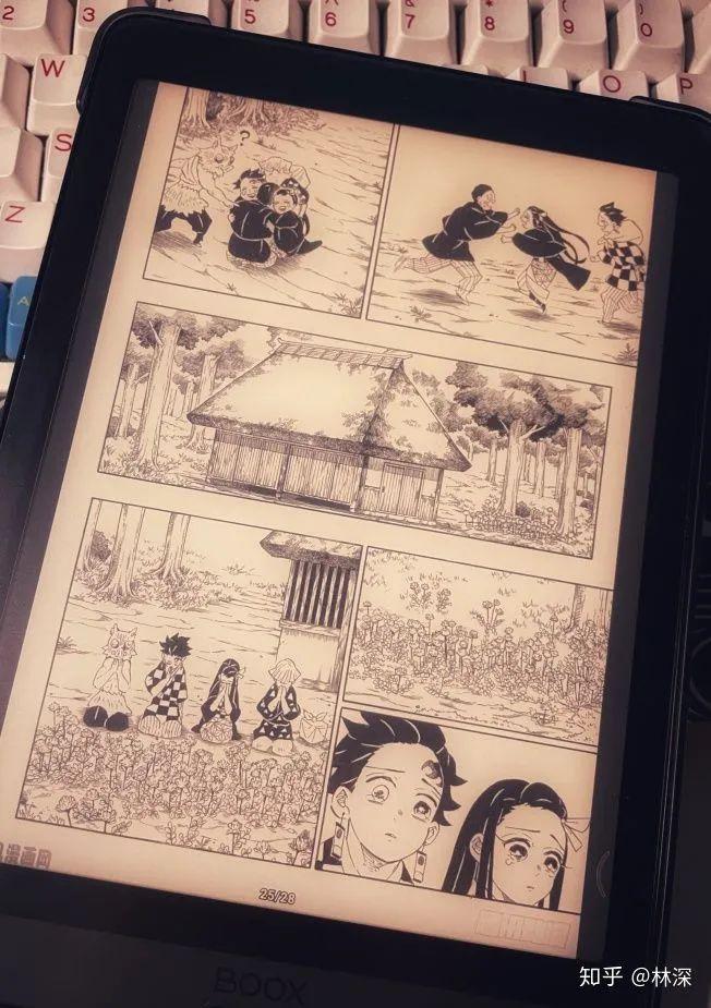 漫畫配上電子書閱讀器就是絕配