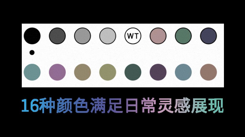 Nova3 Color 彩色筆記