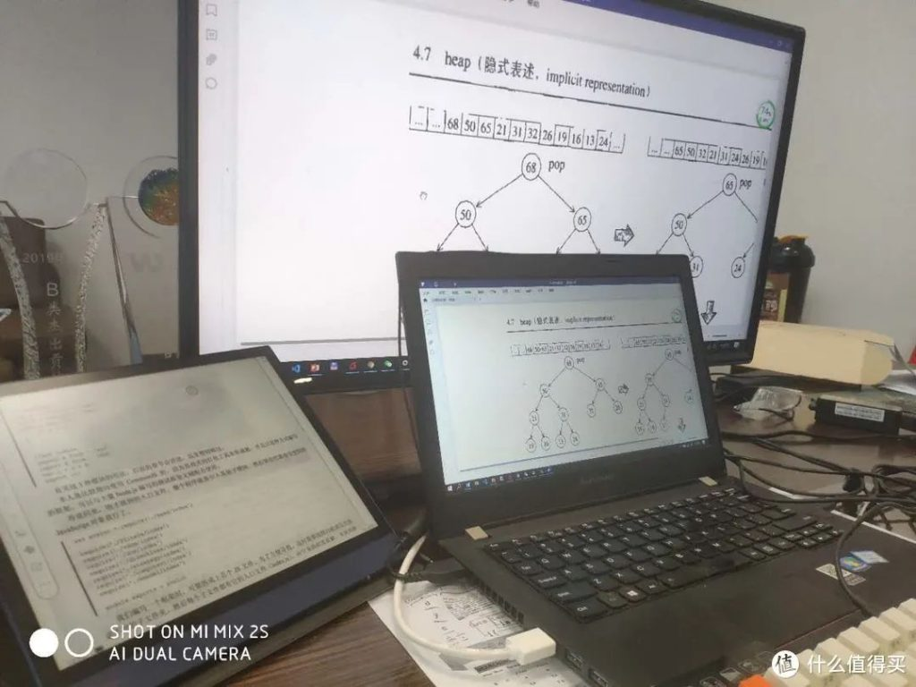 Note Air 與電腦螢幕的比較